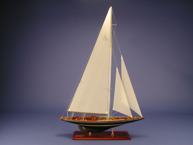 Velsheda Ship Model