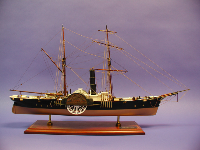 USS Harriet Lane Ship Model