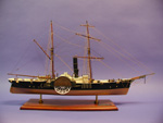 [USS Harriet Lane Model]