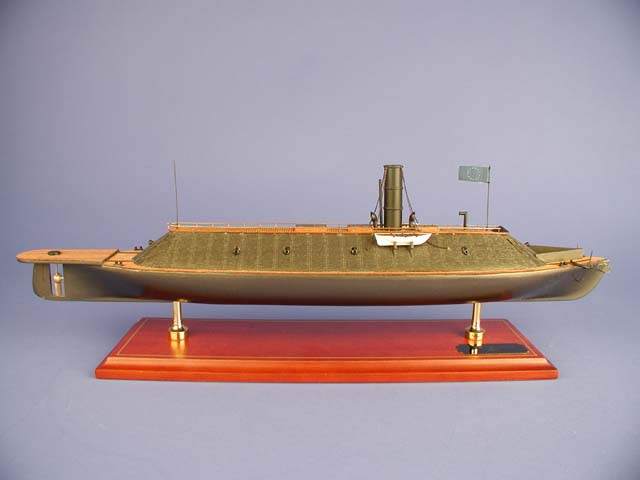 CSS Virginia Ship Model